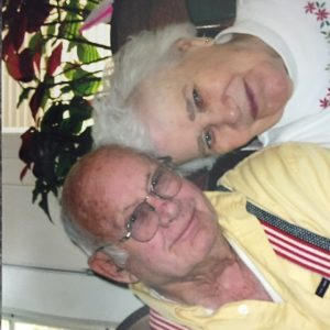 Thomas and Catherine Snead recently at their home in Vinton.